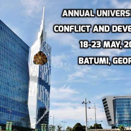 Annual University on Conflicts and Development – Call for applications