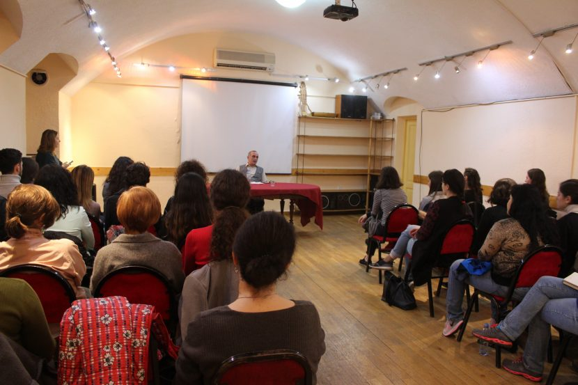 "Lecture course ""Civic Education and Peace Building"" has began"