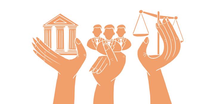 ინფოგრაფიკა: დე ფაქტო პოლიტიკური სისტემა აფხაზეთში
